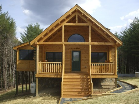 Mod lakewood 06209 moosehead cedar log homes for Hudson log