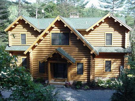 Mod Lakewood 06209 Moosehead Cedar Log Homes
