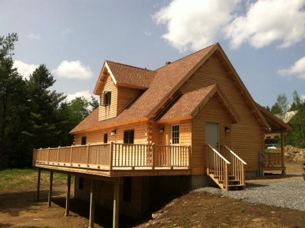 Rangeley Moosehead Cedar Log Homes