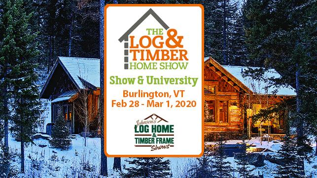 Burlington 2020 Log Home Show